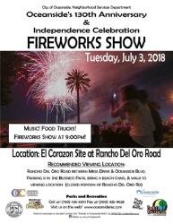 Oceanside Fireworks