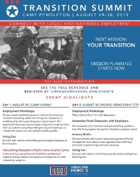 Camp Pendleton Two-Day Summit Flyers 2018-2