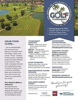 30th Annual Tri-City Hospital Foundation Golf Tournament0