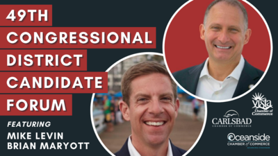 49th Congressional District Candidate Forum… Mike Levin and Brian Maryott (1).png