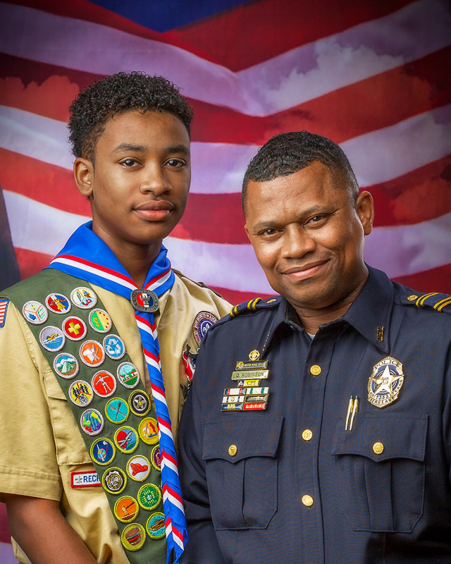 Eagle Scout and Father