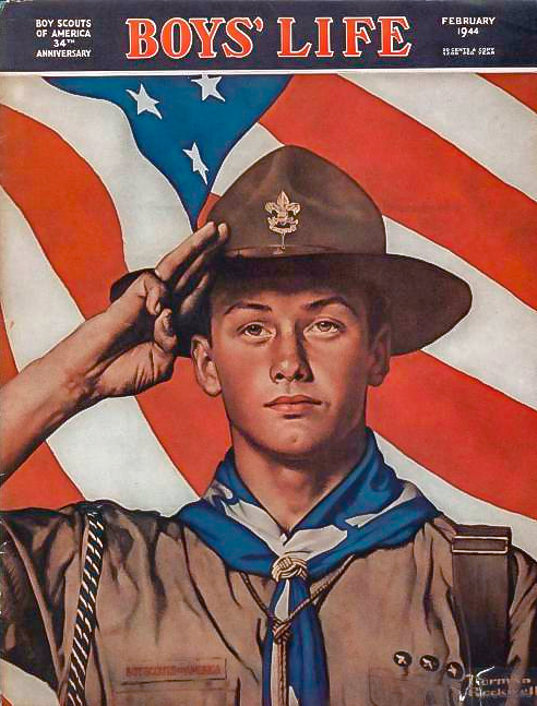 Boy's Life cover, February 1944