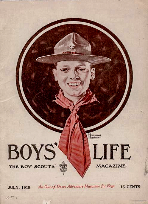 Boy's Life cover, July 1919