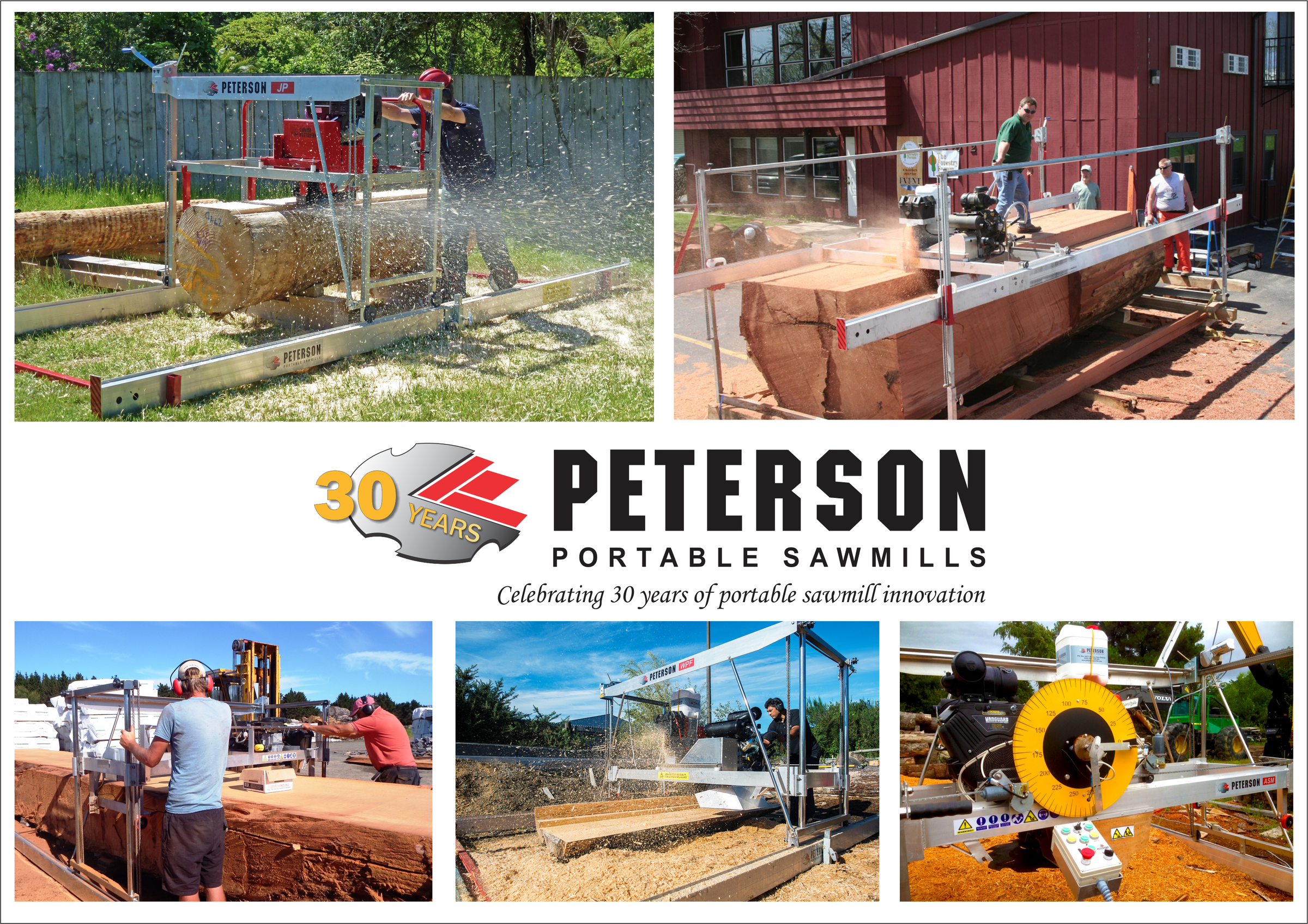 Peterson Portable Sawmills - Celebrating 30 years of