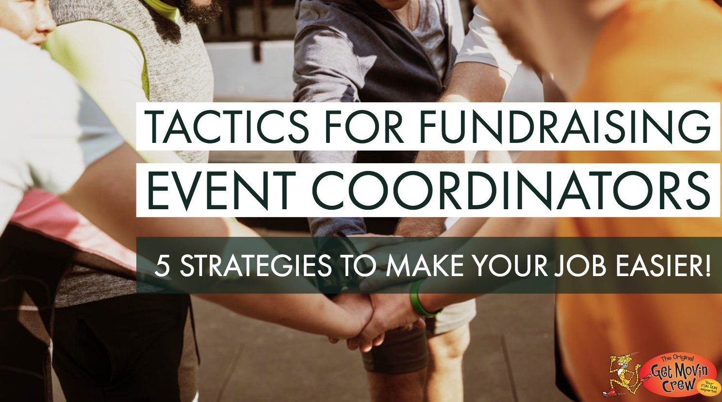 tactics for event coordinators