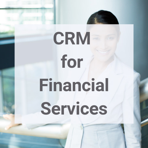 CRM for financial services