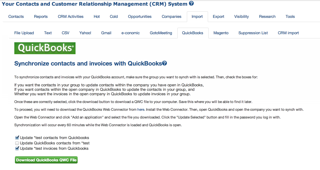 Image result for greenrope quickbooks