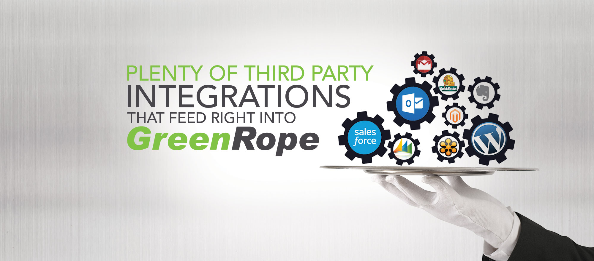 CRM integrations with Greenrope