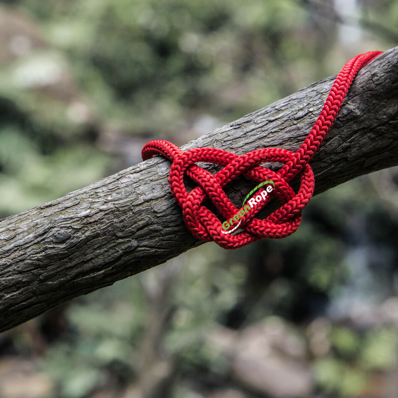 GR red heart rope
