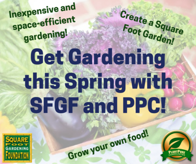 Get Gardening with SFGF and PPC